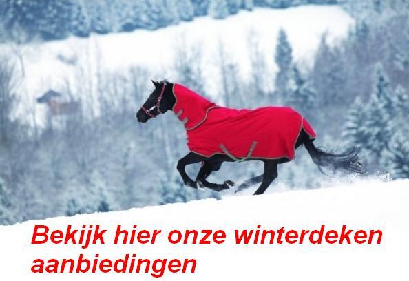 Paarden winter en regen dekens